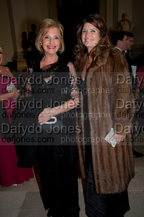PENELOPE CARLIN; ALEXA JAGO, Charity Dinner in aid of Caring for Courage The Royal.