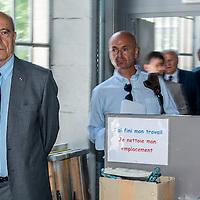 Alain Juppé en campagne à Lyon & St Etienne