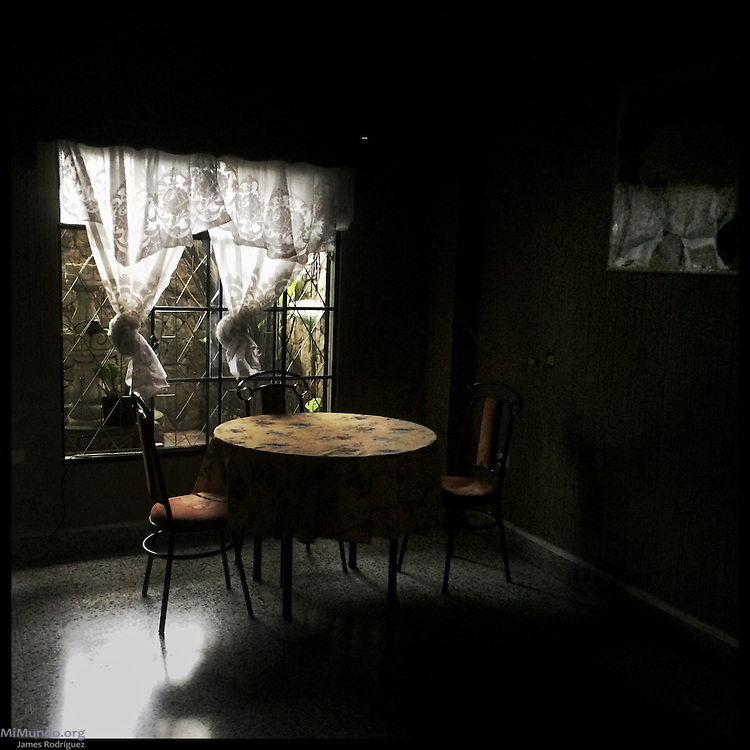 Dining room. Coban, Alta Verapaz, Guatemala. October 3, 2015.