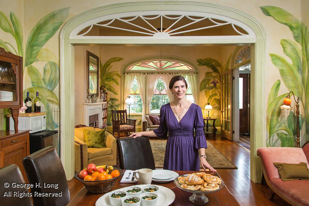 Nancy Gunn, proprietor of the Auld Sweet Olive Bed & Breakfast ...