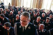 09.09.2006 Warsaw Poland 85th anniversary of Polish Volunteer Fire Department. Photo Piotr Gesicki commander Waldemar Pawlak