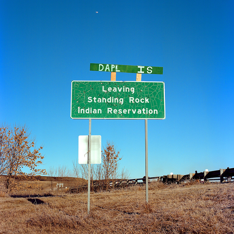 CANNON BALL, NORTH DAKOTA - NOVEMBER 25, 2016: Standing Rock Indian Reservation.