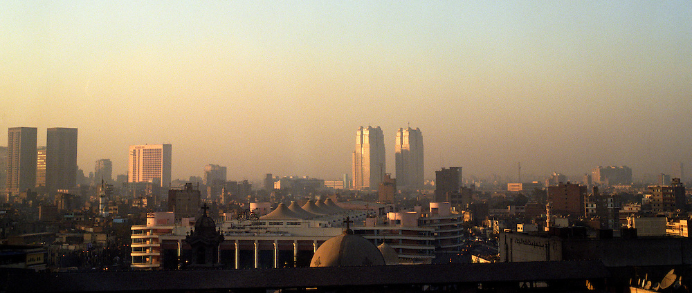 Cairo skyline, Cairo, Egypt.