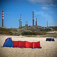 verao dos portugueses , praia do cabo do mundo , leca da palmeira.
