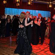 The downstairs dance floor.