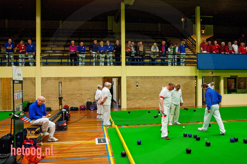 "regionaal krokustoernooi bowls sporthal ""de Els"" Haaksbergen"