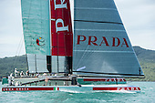 ETNZ and Luna Rossa first races
