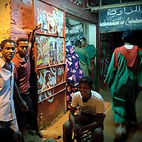 Khartoum, Sudan 18 April 2010<br /> Street scene.<br /> Photo: Ezequiel Scagnetti