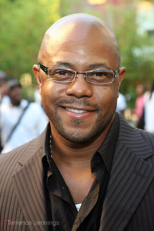 Rockmon Dunbar at Lincoln Presents ' Off the Red Carpet ' during the 2008 American Black Film Festival held at the Sofitel Hotel on August 7, 2008