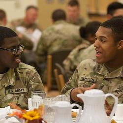 Military Thanksgiving Dinner