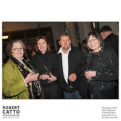 Judith McCann;Julie Elstone;Ian Paul;Carolyn MacMaster at the Out Of The Blue Premiere 06 at the Embassy Theatre, Wellington, New Zealand.