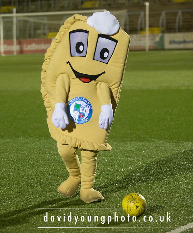 Forfar Bridie mascot - Forfar Athletic v Dundee, Martyn Fotheringham testimonial at Station Park, Forfar.Photo: David Young<br /> <br />  - &copy; David Young - www.davidyoungphoto.co.uk - email: davidyoungphoto@gmail.com