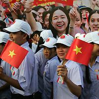 Vietnam 30th April Fall of Saigon Celebrations, Ho Chi Minh City, Vietnam 30th April 2005.
