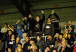Bristol Rovers celebrate their sides win over Dagenham & Redbridge - Mandatory byline: Robbie Stephenson/JMP - 19/12/2015 - Football - Victoria Road - London, England - Dagenham & Redbridge v Bristol Rovers - Sky Bet League Two