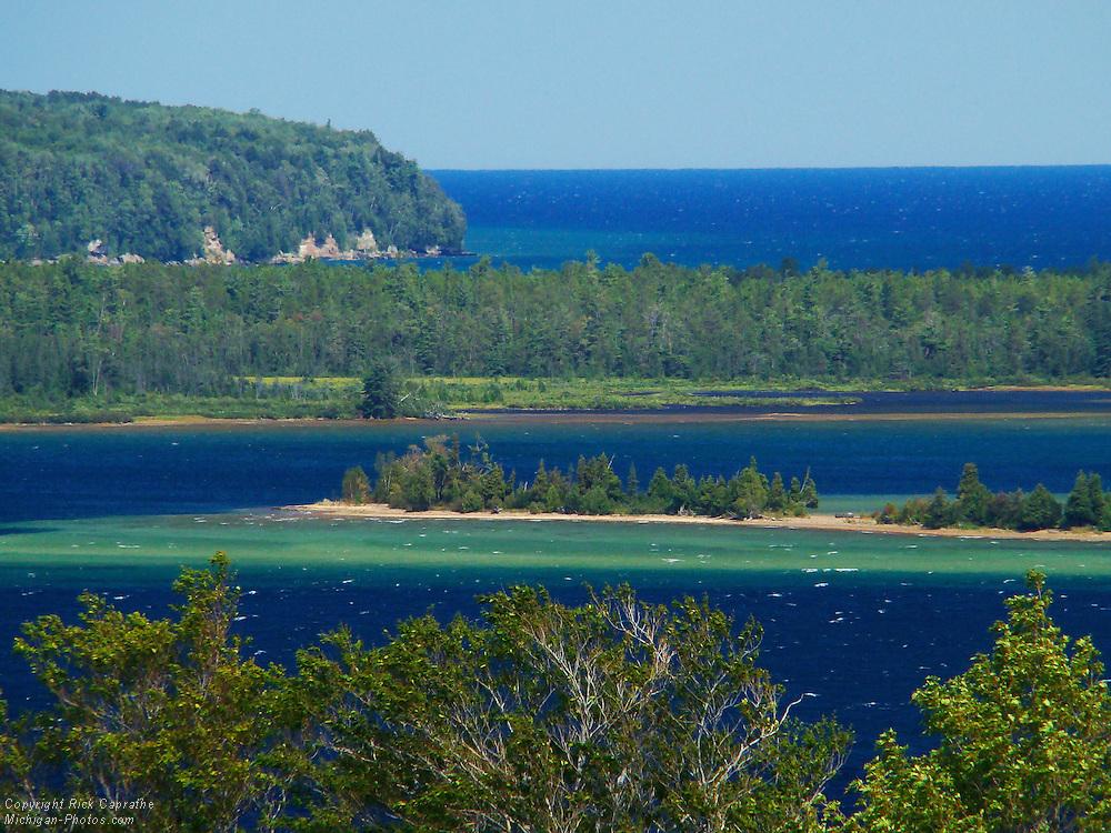 Lake Superior Overlook, Michigan's Upper Peninsula