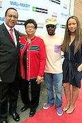 """Dr,. Ben Chavis Muhummad, Dr. Dorothy Cowser Yancy, Anthony Hamilton and Valiesha Butterfield at the Hip-Hop Summit's """"Get Your Money Right"""" Financial Empowerment International Tour draws hip-hop stars and financial experts to teach young people about financial literacy held at The Johnson C. Smith University's Brayboy Gymnasium on April 26, 2008..For the past three years, hip-hop stars have come out around the country to give back to their communities. Sharing personal stories about the mistakes they've made with their own finances along the way, and emphasizing the difference between the bling fantasy of videos and the realities of life, has helped young people learn the importance of financial responsibility while they're still young. With the recent housing market crash in the United States affecting the economy, jobs, student loans and consumer confidence, young people are eager to receive sound financial advice on how to best manage their money and navigate through this volatile economic environment.."""