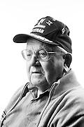 Dante Ridolfi<br /> Marine Corps<br /> Staff Sergeant<br /> WWII (Pacific)<br /> Feb. 5, 1942 - Oct. 15, 1945<br /> <br /> Veterans Portrait Project<br /> Pleasanton, California