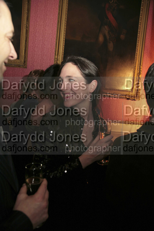 CHARLOTTE SKENE-CATLING , Literary Review's Bad Sex In Fiction Prize.  In &amp; Out Club (The Naval &amp; Military Club), 4 St James's Square, London, SW1, 29 November 2006. <br />Ceremony honouring author who writes about sex in a 'redundant, perfunctory, unconvincing and embarrassing way'. ONE TIME USE ONLY - DO NOT ARCHIVE  &copy; Copyright Photograph by Dafydd Jones 248 CLAPHAM PARK RD. LONDON SW90PZ.  Tel 020 7733 0108 www.dafjones.com