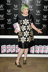 OCT 29 2014 Lena Dunham Book Signing