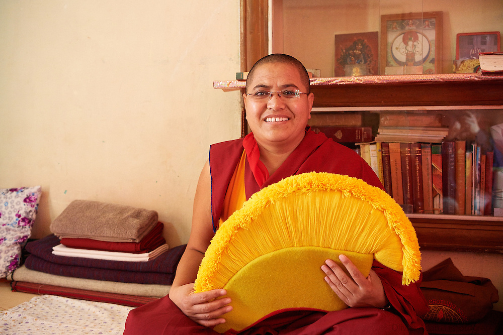 Tenzin Lhadron one of the Geshemas