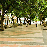 Prado, Paseo del Prado, Paseo el Marti in central Havana, Habana Centro, Cuba.