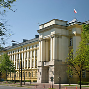 Prime minister office building Warsaw Poland