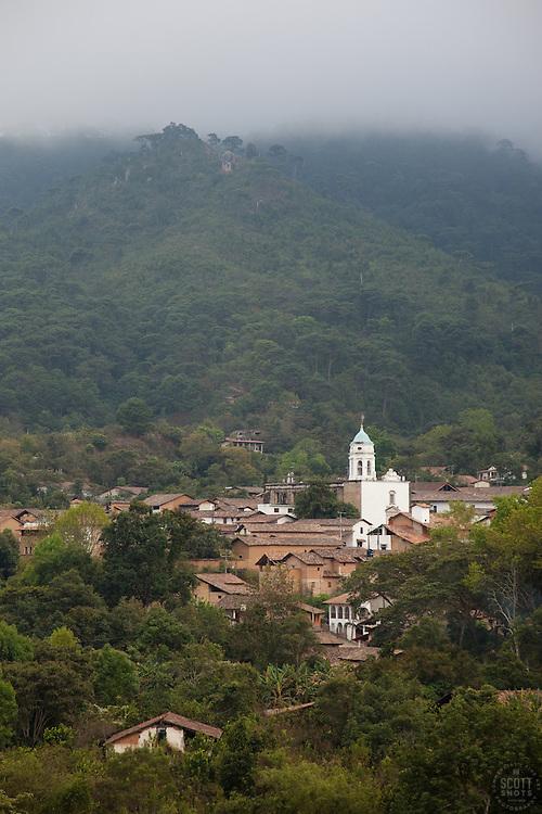 """""""San Sebastian, Mexico"""" - A photograph of the small mountain town of San Sebastian, Mexico."""
