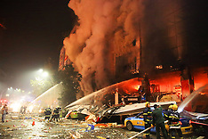 DEC 27 2013 Gas explosion broke out in a shopping mall in Luzhou City