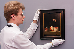 Sotheby's London, November 28th 2014.Sotheby's hold a preview for their December 3rd sale of Old Master and British Paintings at their Bond Street gallery. The exhibition runs from November 29th to December 3rd. PICTURED: