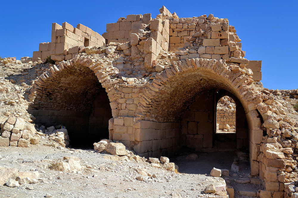 Baths at Montreal Crusader Castle in Shoubak, Jordan<br />