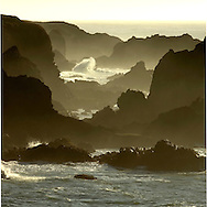 Sunset at Jughandle State Reserve, Mendocino, California