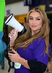 JUN 16 2014 Lauren Goodger attends Samaritans photocall