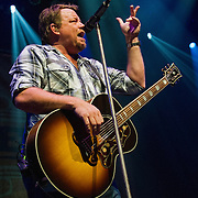 Pat Green performing at ACL Live at the Moody Theater, Austin, Texas, January 31, 2015.