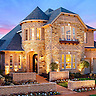 Model Home at The Preserve at Pecan Creek by Standard Pacific Homes in Denton, Texas.