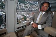 Empresario  Gustavo Cisneros.  Caracas, 2002 (Ramón Lepage /Orinoquiaphoto) Businessman Gustavo Cisneros 2002 (Ramón Lepage / Orinoquiaphoto)