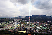 A view of Petronor refinery in Muskiz,  near Bilbao on Monday, Nov. 17, 2008. Photographer: Markel Redondo/Bloomberg news.