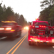Sleeper Lake Forest Fire