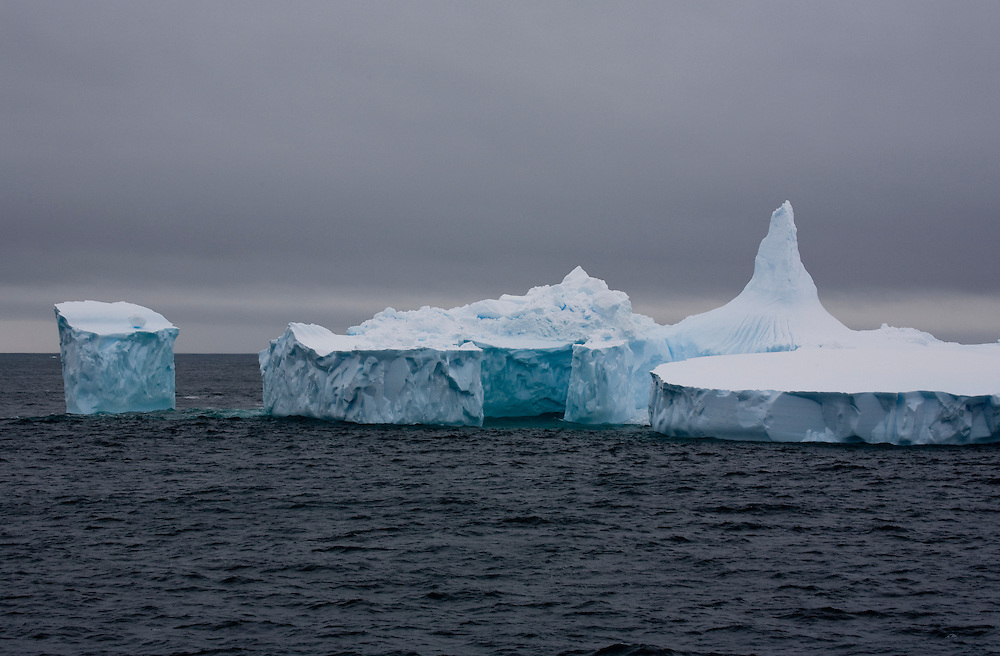February 7th 2007. Southern Ocean. An iceberg floats through the Ross Sea.