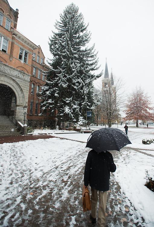 snowfall | Gonzaga Photo Archive