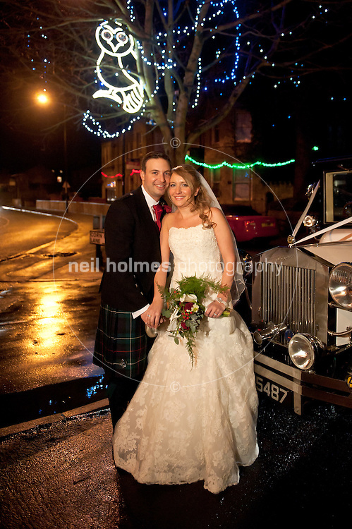 Suzanne Heffernan & Robert McKenzie Wedding Friday 9th December, 2011, Wedding service 4pm @ St Mary's, Burley in Wharfdale..Reception:  Chevin Country Park Hotel. Otley