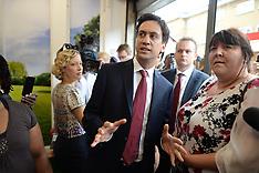 AUG 14 2013 Ed Miliband East Street Market Visit