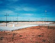 Housing development Ciudad Jardin Soto Real. 312 empty houses, 1169 houses not even built.