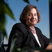 Eileen Claussen, Director of the PEW Center for Climate Change, poses for portraits at her office in Arlington, VA, September 12, 2007.