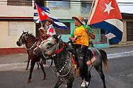 Horses in Niquero, Granma, Cuba.