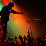 .PETE DOHERTY OF BABYSHAMBLES AT THE UNIVERSITY OF EAST ANGLIA IN NORWICH, NORFOLK.