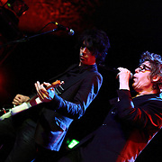 """Richard Butler (right) and Rich Good of The Psychedelic Furs perform on May 8, 2011 in support of the 30th Anniversary of """"Talk Talk Talk"""" at the Showbox Market in Seattle, Washington"""