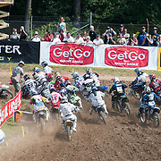 2009 MX Nationals Round #12 held at Steel City MX Park in Delmont, PA