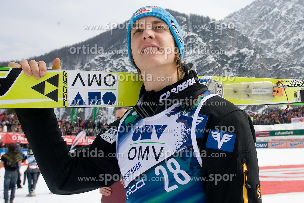 SCHLIERENZAUER Gregor, SV Innsbruck-Bergisel, AUT  after placed second at the Flying Hill Individual  at 3rd day of FIS Ski Flying World Championships Planica 2010, on March 20, 2010, Planica, Slovenia.  (Photo by Vid Ponikvar / Sportida)
