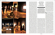 Photostory on London-based auction house Christie's for Spanish weekly El País Semanal.