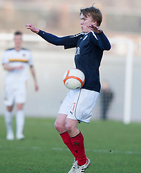 Falkirk's David Weatherston..Dumbarton 0 v 2 Falkirk, 23/2/2013..©Michael Schofield.